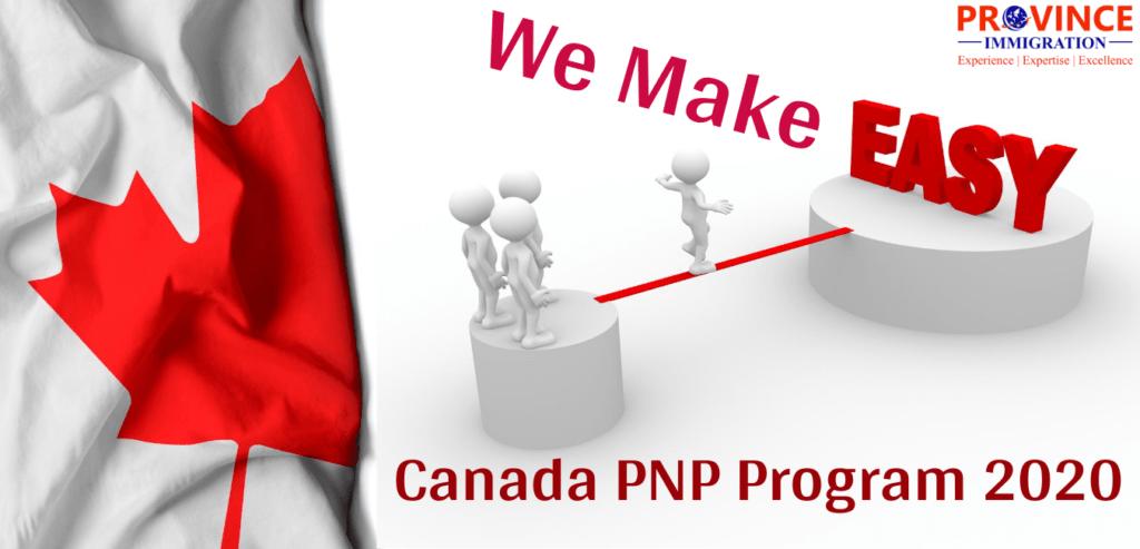 Canada PNP Program 2020
