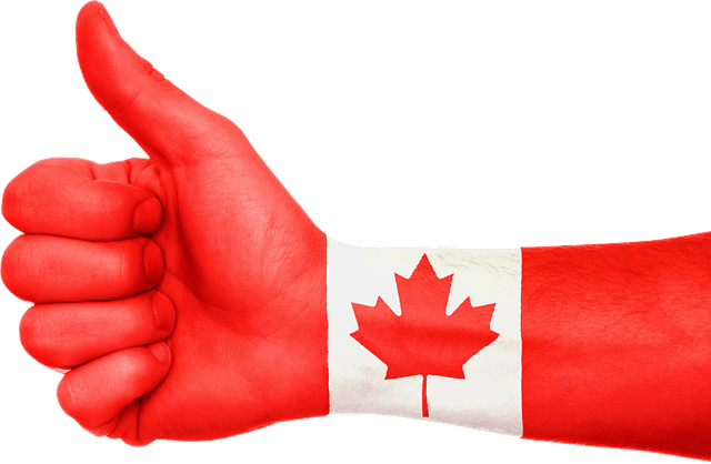 thumbs up showing for canada crs calculator